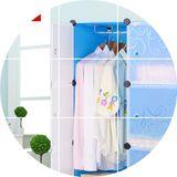 猫力特价DIY收纳树脂塑料组合组装儿童简易衣柜加固简易衣橱