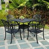 PC-042(91宽方桌)欧式铸铝家具露台阳台桌椅户外花园家具 包邮!