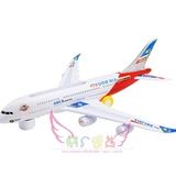 超大万向轮飞机A380客机 电动新品亮兴带灯光非遥控儿童 玩具包邮