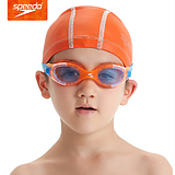 Speedo速比涛 正品儿童休闲防雾防水泳镜 大框游泳镜6-14岁青少年