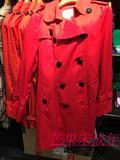 专柜正品代购ELAND/依恋EEJT5S202T内胆可卸双排扣中长款风衣1998