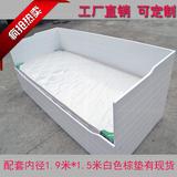 宜家家居 汉尼斯系列 坐卧两用多功能储物床 实木沙发床床垫棕垫