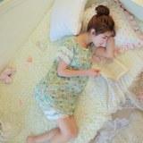 2016夏季棉质月子服薄款孕妇套装短袖 大码孕妇家居服睡衣哺乳衣