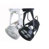 LED服装店PAR30射灯轨道灯35W40W帕灯轨道滑轨灯p30射灯E27导轨灯