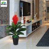 1米鸿运当头仿真花客厅假花盆栽落地绿植仿真植物树塑料装饰盆景