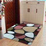 门厅订制鹅卵石进门地垫 门垫入户垫可载剪超薄门口玄关地毯脚垫