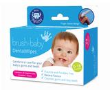 英国Brush Baby 婴幼儿柔软手指套口腔清洁湿巾 0-16个月 28片