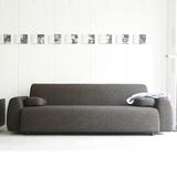 索曼创意新款二三人沙发 日式北欧小户型可拆洗布艺组合个性双位3