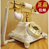无线移动插卡田园仿古电话机欧式电话机创意复古办公座机美式