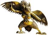 工艺品家居摆设 藏传佛教大鹏金翅鸟铜佛像
