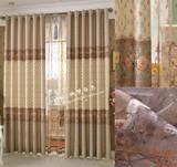 欧式田园窗帘遮光布料成品 客厅卧室温馨高档特价清仓 富贵花开