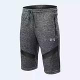 安德玛运动裤UA短裤男速干透气宽松库里五分裤篮球健身跑步训练裤