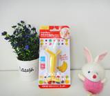现货日本代购正品KJC埃迪森婴儿宝宝香蕉牙胶咬咬乐磨牙棒玩具3m+