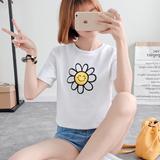 2016夏季新款短款T恤女韩版学院风印花短袖上衣宽松休闲体恤衫潮