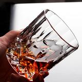 创意玻璃杯威士忌酒杯烈酒洋酒杯啤酒杯古典杯套装酒吧KTV6个包邮