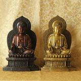 台湾祥狮 佛像摆件 精工紫铜黄铜 阿弥陀佛圣像 庄严佛像