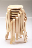 宜家凳子创意时尚实木餐桌凳客厅家用小板凳成人矮凳简易圆凳欧式