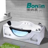 Bonen/博纳恩1.7米亚克力玻璃浴缸冲浪按摩五件套普通浴缸