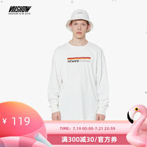 VIISHOW2019 autumn new long-sleeved T-shirt male Korean version of the round neck men's shirt shirt youth student shirt