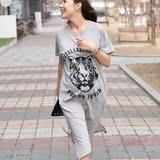 韩版花纹进口连衣裙现货孕味孕妇装气质宽松夏季孕妇裙新款品牌