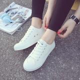 韩国ulzzang小白鞋学院帆布鞋女夏学生韩版白色休闲鞋子运动板鞋