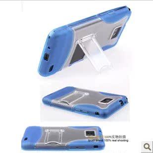三星gt-i9100g|i9105p 电影折叠支架保护套磨砂硅胶手机软高清图片