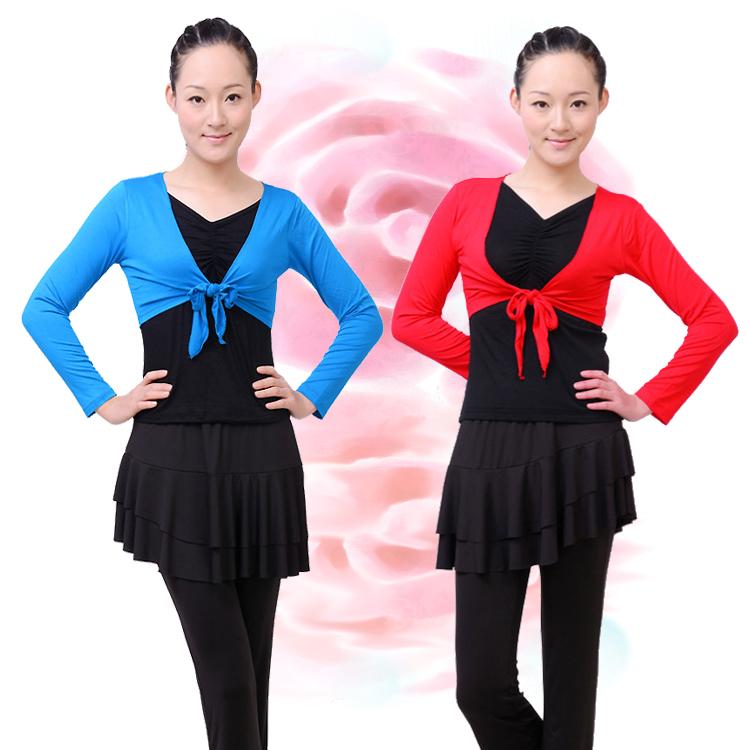 广场舞服装秋款新款套装套裙跳舞衣服广场舞新款舞蹈服装裙裤女装