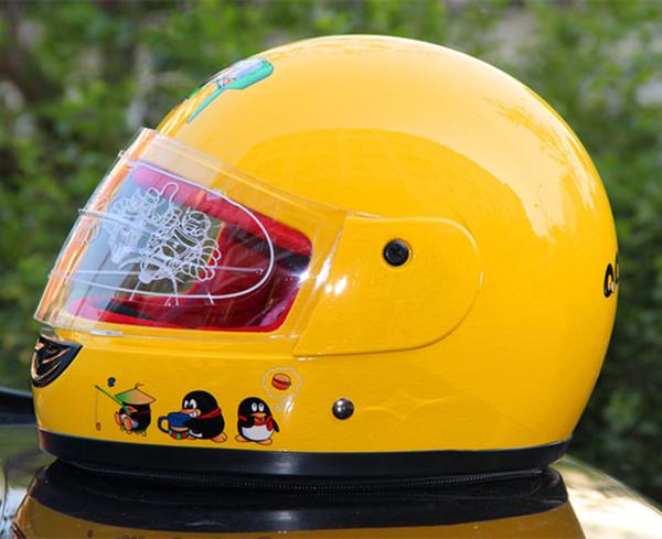 摩托车电动车头盔/儿童头盔冬款/全盔带围脖保暖小孩安全帽 男女