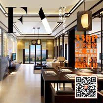 330张中式东南亚风格家装效果图 室内装修设计作品集 高清