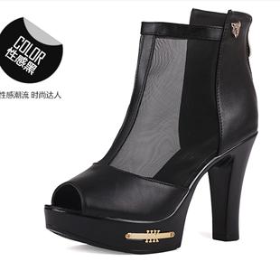 包跟粗超高跟凉鞋品牌排行 手编凉鞋教程 包跟粗超高跟凉鞋什么牌子