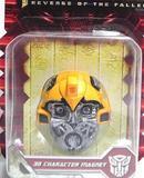 正版孩之宝变形金刚 人物磁石 冰箱贴 汽车贴 大黄蜂 擎天柱 玩具