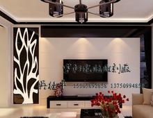 板镂空雕花板现代风格简约时尚树形无框 隔断屏风背景墙定