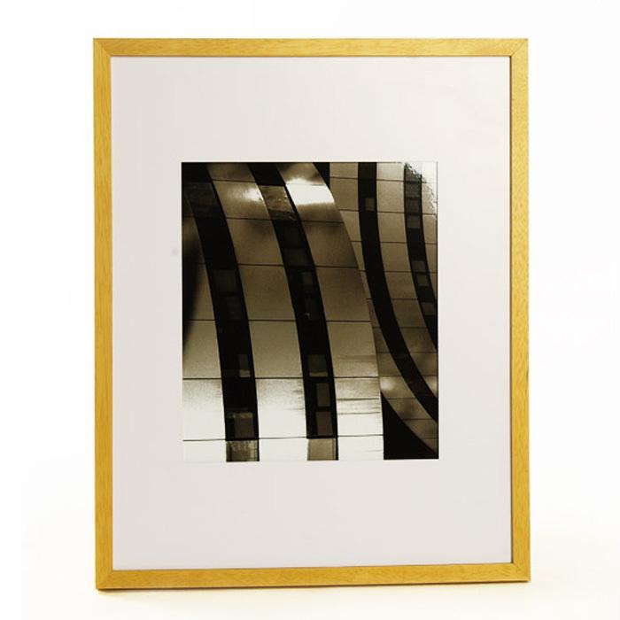北欧表情/美式乡村简约厚板现代装饰画/实木边框系列/城市光影3款