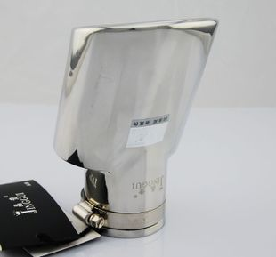 晶贵排气管 福特新福克斯汽车尾喉 改装专用不锈钢消声器5高清图片