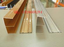 移门铝材型材参数 佛山包覆移门铝型材厂 移门铝材型材产高清图片