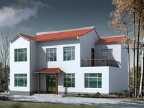 二层新农村自建房屋农民房子设计图纸别墅建筑cad施工图纸