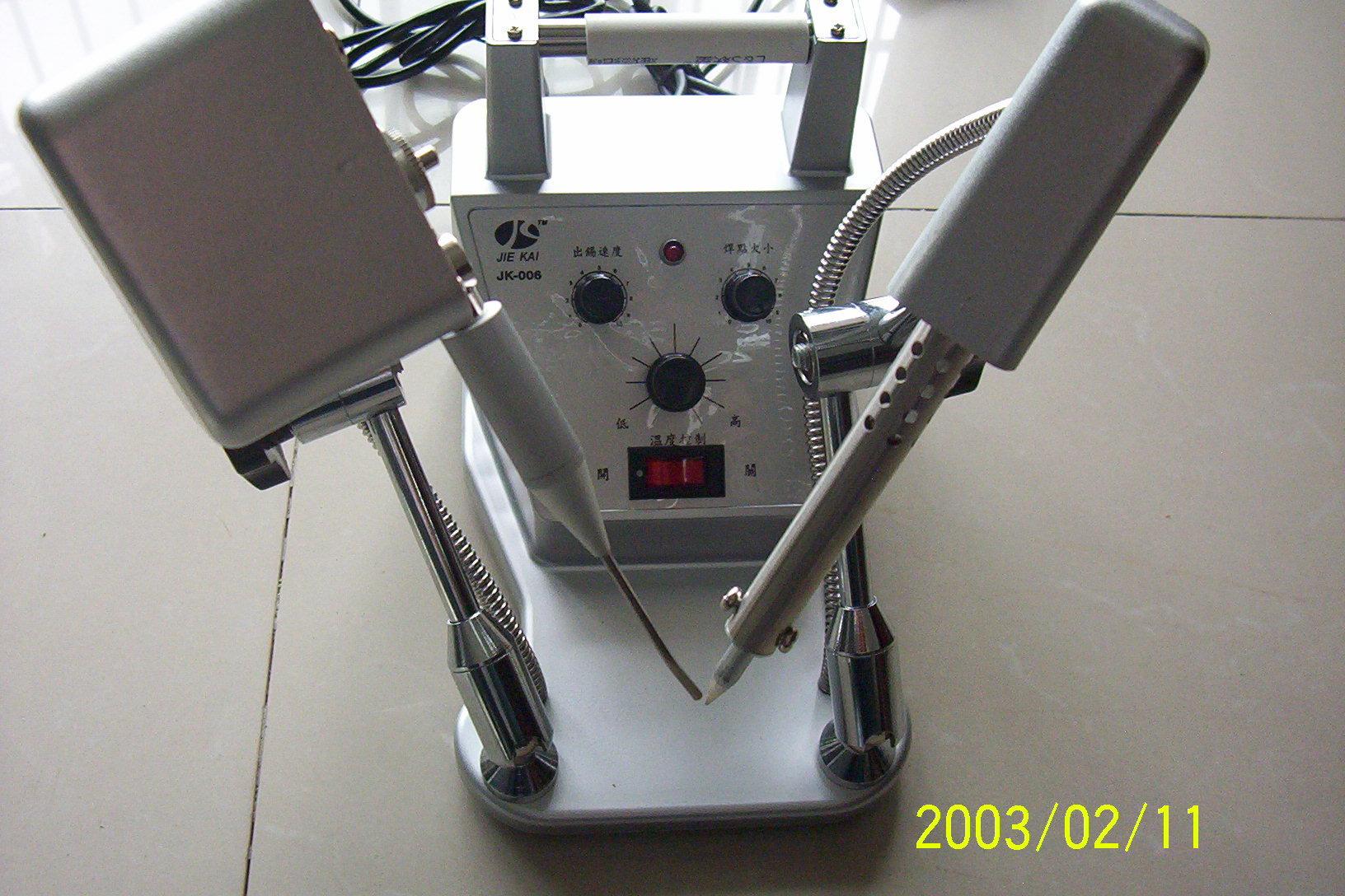 2冠信誉 !上海jk-006万向自动送锡焊锡机 点焊机 脚踏锡焊机