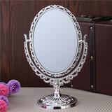 双面台式化妆镜子 大号时尚梳妆镜 欧式台镜 公主镜 包邮
