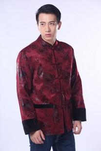 男式唐装棉衣品牌排行 中老年男士唐装棉衣 男式唐装棉衣什么牌子好