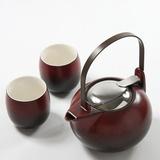 促销正品专柜 多样屋 现代茶具组/铁红整套茶具瓷TA210701006ZZ