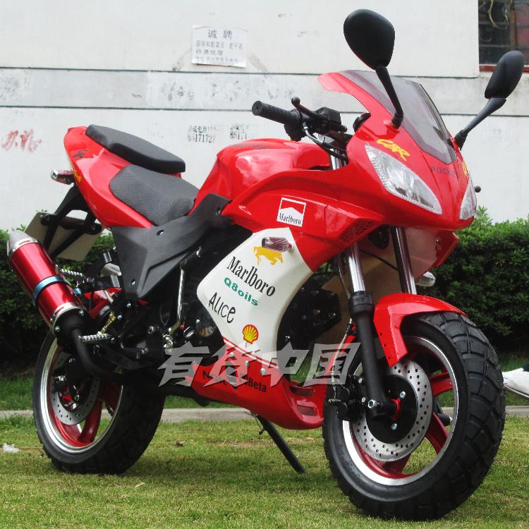 新款包邮摩托车跑车 可选125-250cc小金鹰r1趴赛大街车 巡