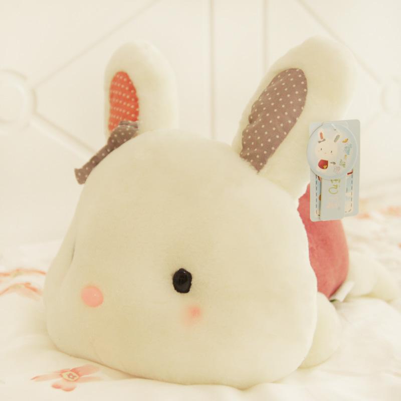可爱生日礼物女趴趴兔公仔大号毛绒玩具兔布娃娃小