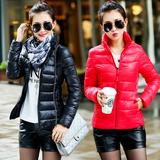 包邮 2015冬装新款韩版女装小棉袄子修身棉服加厚外套棉衣女短款