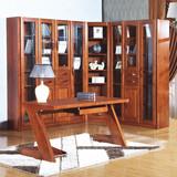 全实木纯原木简约现代中式书桌电脑桌家用台式写字台办公桌书台