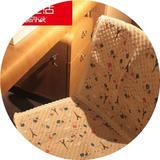 馨生活 巴黎铁塔棉麻椅套/椅垫/餐桌套装/餐椅垫 春秋椅垫坐垫