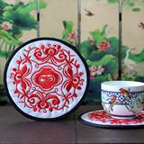 中国风 刺绣布艺杯垫 特色家居小礼品 商务会议出国礼品