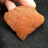 精品 丹麦波罗的海海飘天然无优化 平安扣料 蜜蜡原石 17.3克