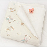 彩棉空气层防水布料 宝宝隔尿垫夏纯棉防水透气婴儿童床垫面料