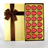 德芙巧克力礼盒装心语18粒装生日情人节生日送女神礼物零食品