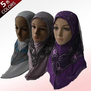 穆斯林纱巾2014 新款品牌排行 穆斯林纱巾戴法 穆斯林纱巾2014 新款